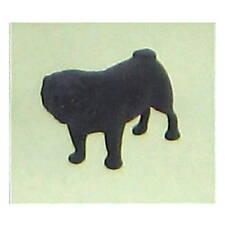 Choco Egg Pug Dog Figure Black FURUTA KAIYODO Pet Animal Collection 2