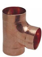 NIBCO 911 11/2 DWV Tee, Wrot Copper, C x C x C, 1-1/2 In