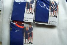 Kinder - Sport - Freizeit - Set, kurze Hose und T-Shirt, Größen: 98/104 - 122/12
