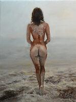 Original Painting by American Artist Eun Jung /Nude #GEJ-0255LC19