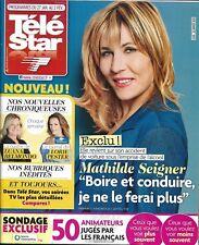 TELE STAR n°2156 27/01/2018 Mathilde Seigner/ Obispo/ Lorie/ Dalida/ Brad Pitt