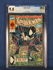 MARVEL COMICS CGC 9.8 SPIDER MAN 13 8/91 WHITE PAGES