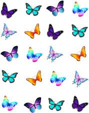 Bright Butterflies Waterslide /Water Transfer Nail Decals/Nail art