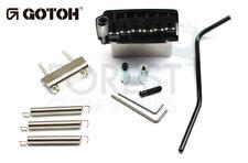 GOTOH EV510T-BS guitar tremolo bridge black, Brass saddle