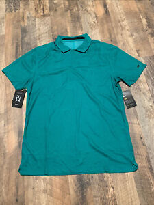 Nike Golf Tiger Woods TW Dri-FIT Jacquard Polo Shirt Camo CT3801 370 S NWT