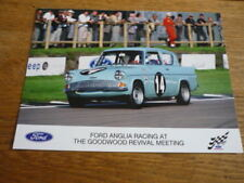 RACING FORD ANGLIA, OFFICIAL FORD PUBLICITY PHOTO