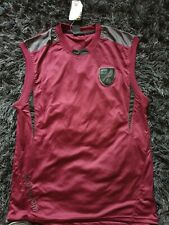 NORWICH CITY ACTIVE INDIGO VEST DARK RED SIXE XL NEW WITH LABEL