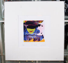 Joe Borg Limited New York City Broadway Show WICKED II Matted Art Print