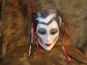 Vintage Clay Art/San Francisco/Art Deco Mask/EXCELLENT!