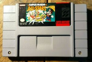 Suoer Mario All-Stars (Super Nintendo SNES) VG Shape & Tested Authentic