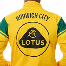 Norwich City FC walkout jacket Lotus S/Small Errea 2020-21