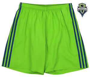 adidas MLS Men's Adizero Team Color Short, Seattle Sounders FC- Green