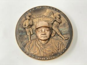 """Babe Ruth Plate Bradford Exchange """"The Sultan Of Swat"""" Yankees Limited"""