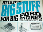 1968 SHELBY AMERICAN ORIGINAL AD *Cobra/GT40//427/428/Mustang/GT/1966-1967/1969