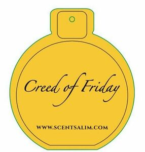 Promotional offer. CREED OF FRIDAY BY SCENT SALIM X 1. LUXURY SCENTS