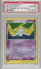 2004 Ex Team Magma vs. Team Aqua 97 Jirachi Holo Psa 10 Pokemon (1 Of 7)