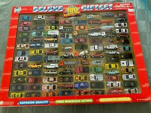 YAT MING ROAD TOUGH 100 DELUXE GIFT SET DIECAST CARS SET - BRAND NEW