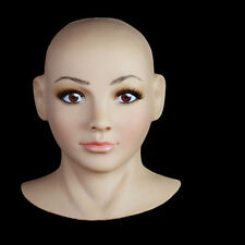 female silicone mask ULTRA REAL pullover mask hood feminize CD TD DRAG QUEEN sf4