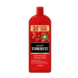 1.3L Levington Tomorite Liquid Concentrate Tomato Feed Food Pot Plants 30% Extra