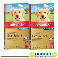 Advantix For Dogs Extra Large Over 25kg 9 Pack
