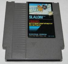 SLALOM    Nintendo  NES Spiel    GETESTET