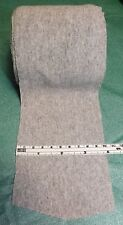 """Light Gray Heather 3.75"""" Wide Ribbed Knit Trim Garment/Craft Sewing Fabric BTHY"""