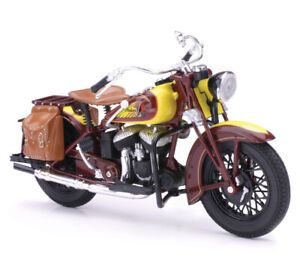 New Ray Toys 1:12 Scale Die Cast Toy Replica Indian Sport Scout 1934
