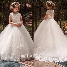 Flower Girl Dress Communion Bridesmaid  Prom Princess  Bridesmaid Wedding