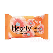 Hearty CRAFTERS Super Lightweight AIR DRYING MODEL CLAY Orange 50g 0390034HRTO