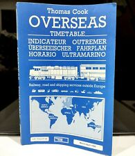 More details for thomas cook overseas timetable mar april 1985 vintage rail & shipping schedules
