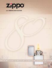 Zippo 2012 Complet Ligne Briquet Collection Produit Prix Catalogue Livre