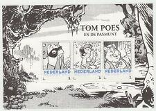 Nederland 3012-D-XX deel Postset Tom Poes postfris vel 1 Tom Poes en de Pasmunt