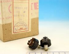 Vintage WIRE WOUND TESLA Potentiometer 3.3kOhm 3.3K Ohm 3.3 kOhm 0.5W LOT OF 8