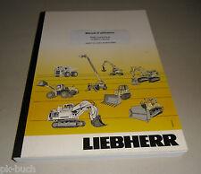 Manuel d'utilisation Liebherr A 904 C-Litronic Pelle hydraulique Stand 2010