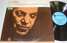 HEITOR VILLA-LOBOS Concurso Internacional de Piano LP
