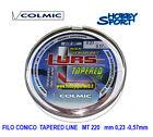 FILO COLMIC CONICO LURS MT 220 DIAMETRO 0,23- 0,57 SURFCASTING