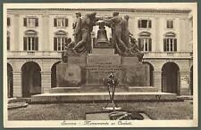 SAVONA CITTÀ 02 MONUMENTO ai CADUTI Cartolina