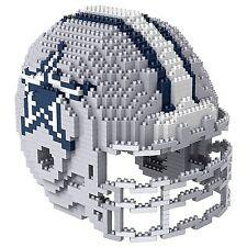 Dallas Cowboys BRXLZ Team Helmet 3-D Puzzle Building Blocks ~ NEW!