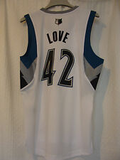 Adidas Swingman NBA Jersey Minnesota Timberwolves Kevin Love White sz 4X