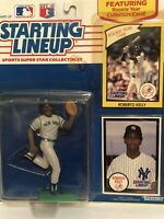 1990 Starting lineup Roberto Kelly Baseball figure Card New York Yankees MLB Toy