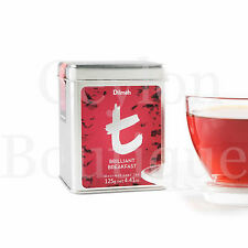 Dilmah Brilliant Breakfast 125g Ceylon Loose Leaf Tea Tin Caddi