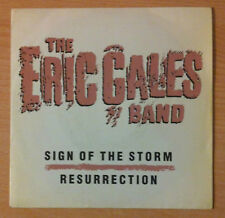 """THE ERIC GALES BAND  """" Sign Of The Storm """" - Vinyl single 7""""  PROMO - 1991 Spain"""