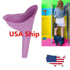 US 1pc Women Stand-up Pee Toliet Urine Urinal Funnel Urination Outdoors Travel