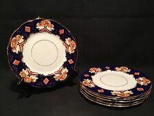 """VINTAGE ROYAL ALBERT BONE CHINA HEIRLOOM 6 Salad Plates 8"""""""
