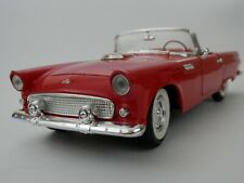 Revell 1955 Ford Thunderbird T-Bird 1/18 Scale Die-Cast Metal Red w/Hardtop