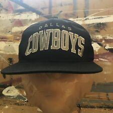Vintage Dallas Cowboys NFL Football Starter ProLine Arch Script Snapback Hat