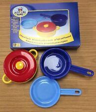 Niños Childrens Juego Ollas dantoy Durable & Cacerolas Juego-pretender Cocinar Cocina
