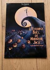 DOSSIER DE PRESSE CINÉMA : L'ÉTRANGE NOEL DE MONSIEUR JACK - TIM BURTON