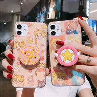 Sailor Moon Hard Phone Cover Case for iphone XS For iPhone 11 Pro Max 7 SE 2020