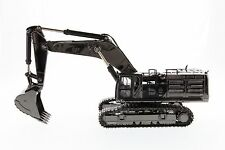 Caterpillar® 1:50 scale Cat 390F L Hydraulic Excavator Gunmetal Finish - Diecast